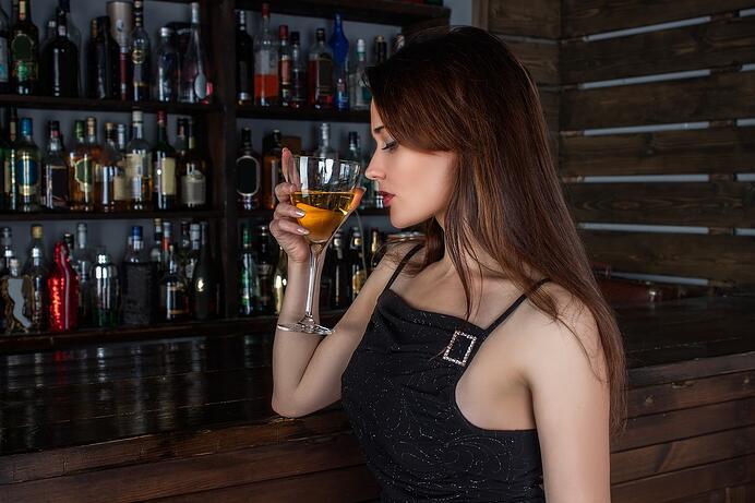 imagen sobre la alcoholexia