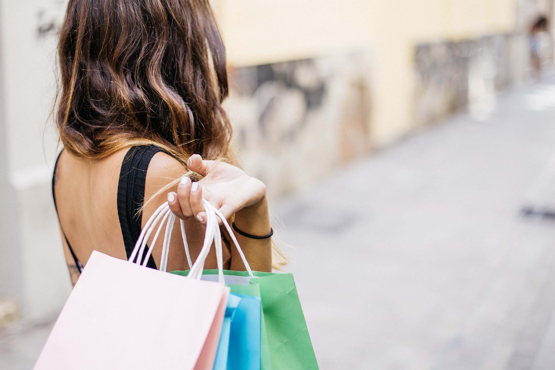 imagen sobre la adicción a las compras